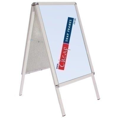 White A-board