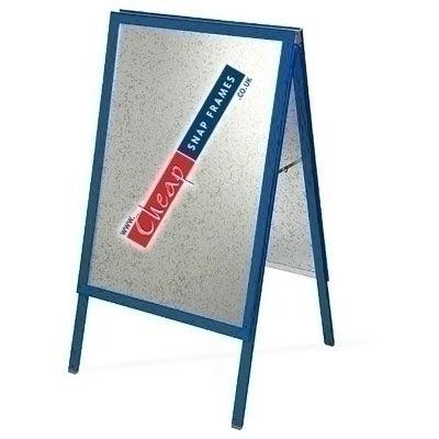 Gentian Blue A-board - 30 inch x40 inch