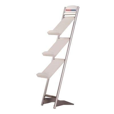 Three Tier Freestanding Rapid Brochure Stand