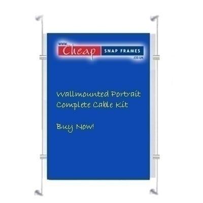 1 x A1 Portrait Wallmounted Kit