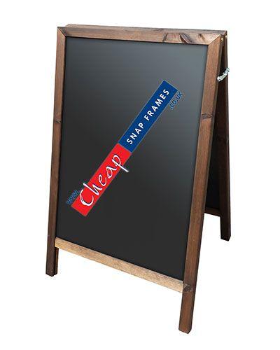 Small Chalk Board Pavement Sign