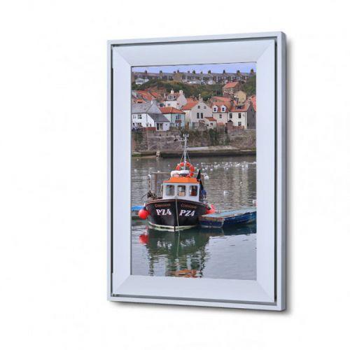 A3 Silver Designer Snap Frame 37mm