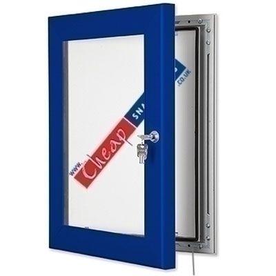 A4 Ultramarine Blue Outdoor LED Lightbox