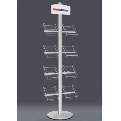 Leaflet Dispenser Modular Display Stand Kit