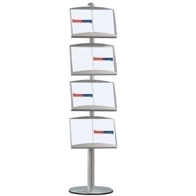 Steel Brochure Display MDS