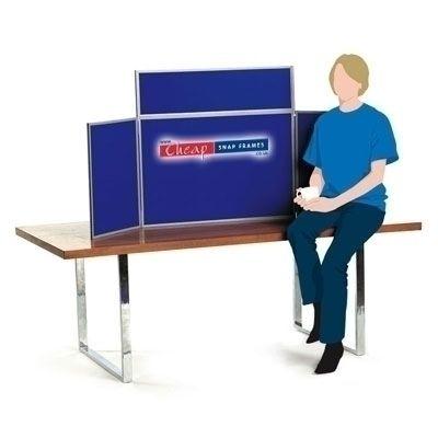 Royal Blue Mini Table Top Display Kit