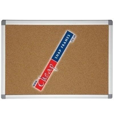 1200mm x 900mm Large Cork Pinboard Notice Board
