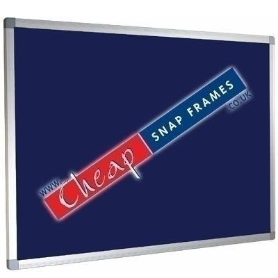1200mm x 1200mm Blue Felt Noticeboard Class 0