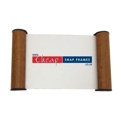 Oak Effect A6 Door Sign  sc 1 st  Cheap Snap Frames & Oak Effect 105 x 148mm Door Sign | Name Plate Holder for office ...
