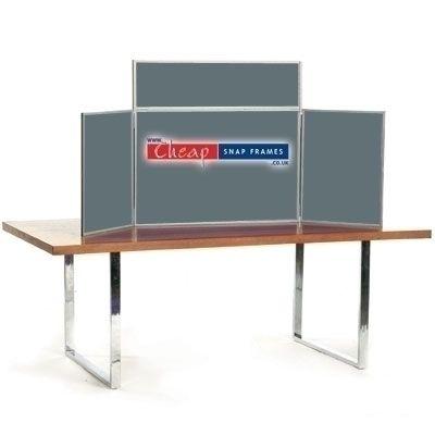Grey Mini Table Top Display Kit