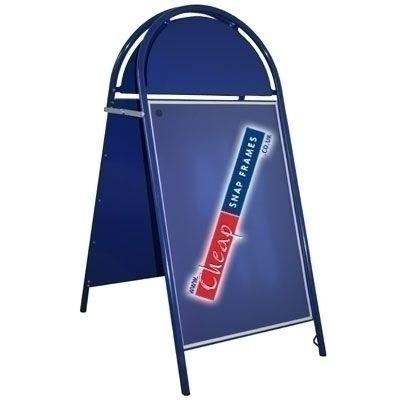 A1 Blue Round A-board